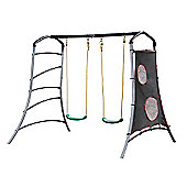 Plum Eris Metal Swing Set