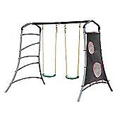 Plum Eris Metal Swing Set