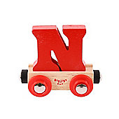 Bigjigs Rail BR114 Name Letter N (Colours Vary)