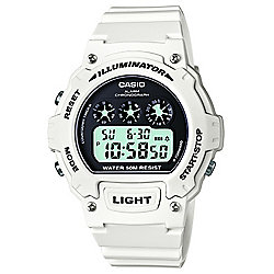 Casio Sports Mens Chronograph Watch - W-214HC-7AVEF