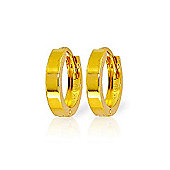 QP Jewellers Rhythmic Huggie Earrings in 14K Gold