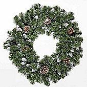 2ft Snow King Fir Wreath