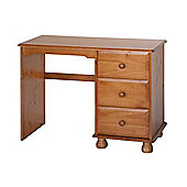 Home Essence Sheraton Single Pedestal Dressing Table