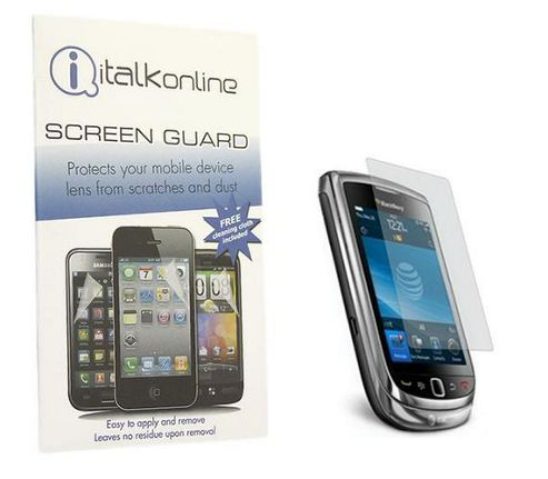 S-Protect LCD Screen Protector & Cleaning Cloth - BlackBerry 9800 Torch