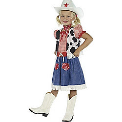 Cowgirl - Child Costume 4-6 years