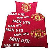 Manchester United Single Duvet
