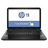 "HP 15-g007na 15.6"" Touch Laptop, AMD A4, 8GB Memory, 1TB Storage - Black"
