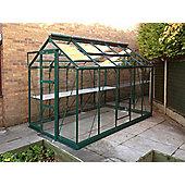 Rhino Premium Greenhouse – 6x10 - Bay Tree Green Finish