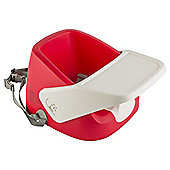 Tesco Feeding Booster Seat with Tray Red