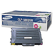 Samsung CLP-500D5M Magenta (Yield 5,000 Pages) Toner Cartridge for CLP-500/N Series Printers