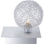 Home Essence New Design 1 Light Table Lamp in Silver