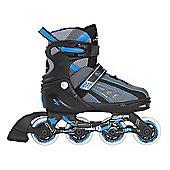 Vortex Inline Skates Blue Size 3-6