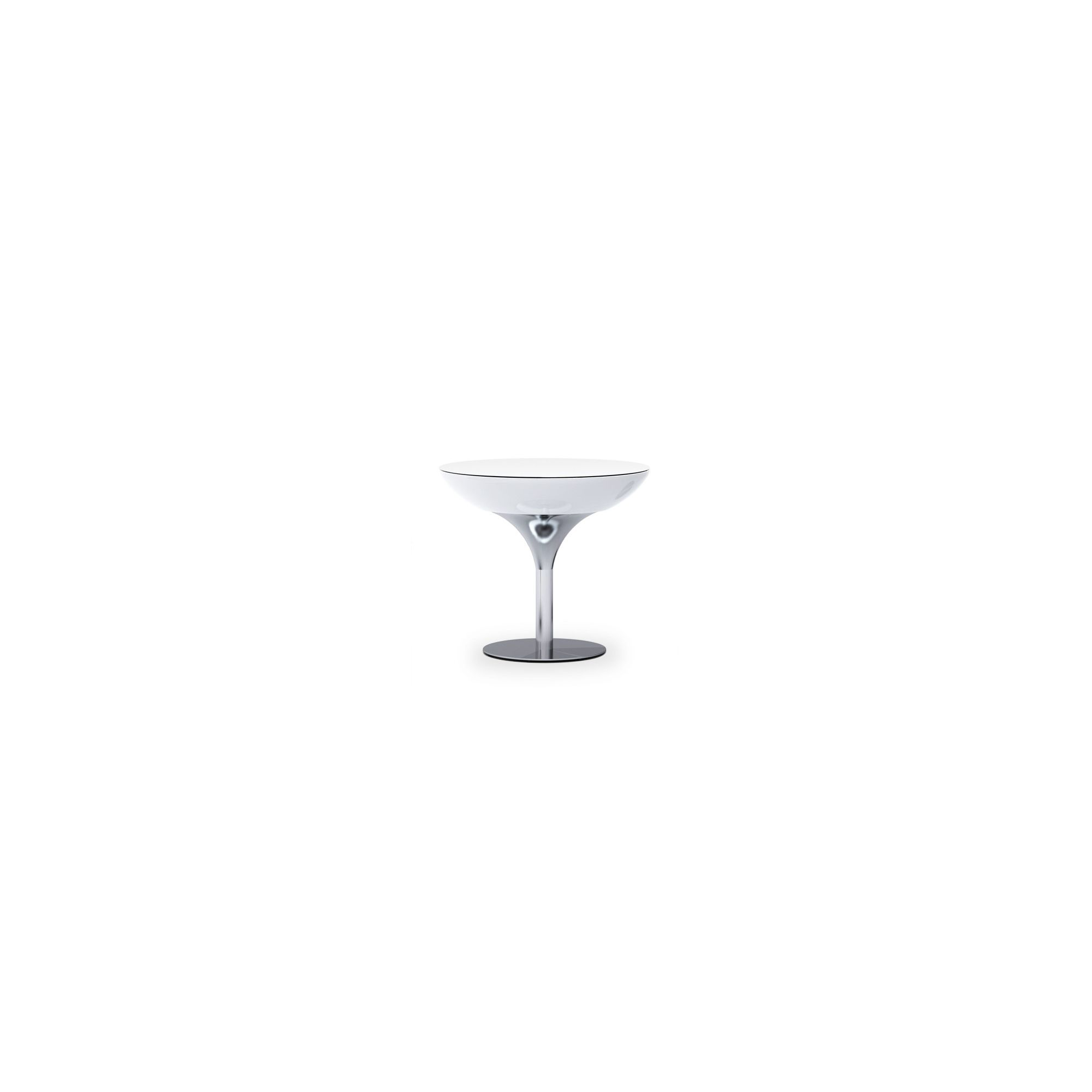 Moree Lounge Indoor Table with Glass Top - 75cm at Tesco Direct