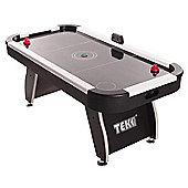 Tekscore Jet 6ft Air Hockey Table With White Top Rails