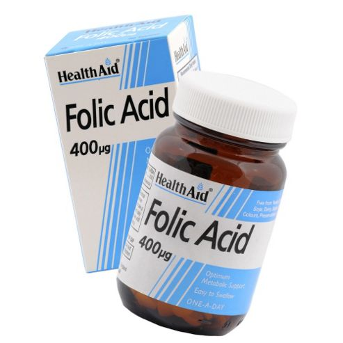 HealthAid Folic Acid 400µg 90 Tablets