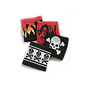 Boys Dragon, Flame or Skulls Assorted Wristband - Single
