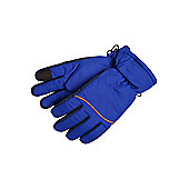 F&F Touch Screen Ski Gloves with Thinsulate™ - Blue