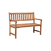 Bentley Wooden Garden Bench, Acacia, 2-3 seater