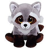 "Ty Beanie Babies 6"" Plush Bandit the Raccoon"
