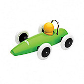 Brio Classic Race Car Green