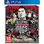 Sleeping Dogs Definitive Edition - Day 1 Edition PS4