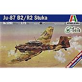 Ju-87 B2/R2 Stuka - 1:72 Scale - 1292 - Italeri