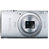 "Canon Ixus 265 Digital Camera, Silver, 16MP, 12x Optical Zoom, 3"" LCD Screen, Wi-Fi"