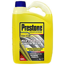 Prestone Spring/Summer Screenwash 4L
