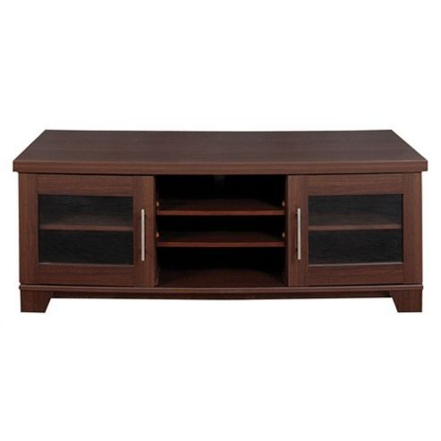Caxton Royale Wide Entertainment Cabinet in Dark Oak