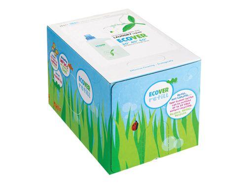 Ecover 6151 Non Bio Laundry Liquid Refill 15L