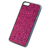 Tortoise™ Hard Case iPhone 5 Bright Pink Glitter