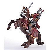 ELC Red Knight on Horseback
