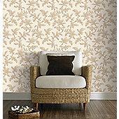 Graham & Brown Sarra Premier Wallpaper - Gold