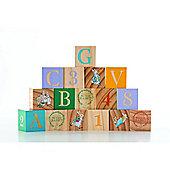 Rainbow Designs Peter Rabbit Wooden Picture Blocks