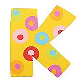 Tatiri Spots & Stripes Letter K (Spots)