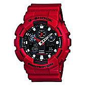 Casio G-Shock Mens Alarm Watch - GA-100B-4AER