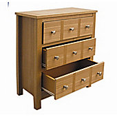Home Zone Willowdale Occasional 3 Drawer Chest