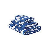 Linea Whale Hand Towel