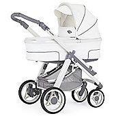 Bebecar Hip Hop Urban Magic Plus White Combi Pram (428)