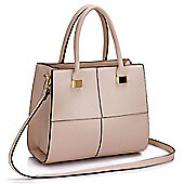 KCMODE Ladies Nude Fashion Tote Handbag