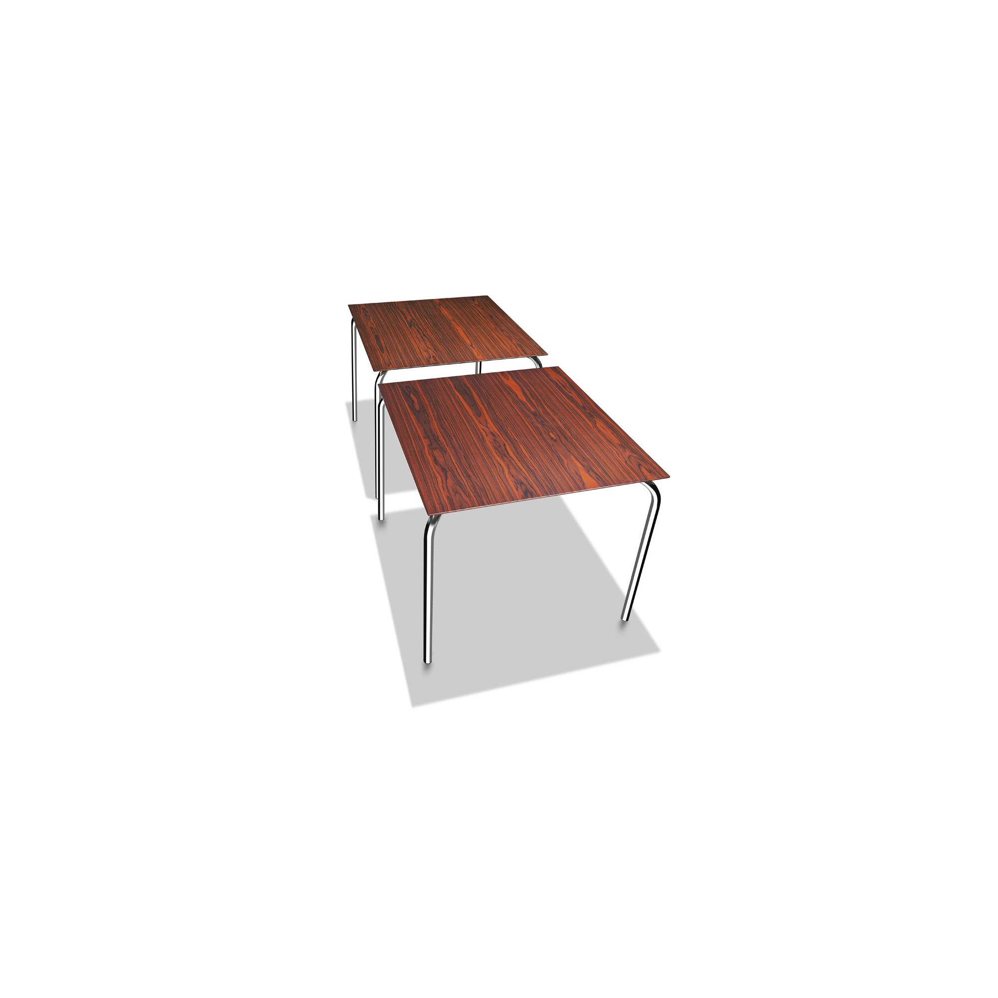 Parri Big Easy Low Table - Veneer - Stained Red at Tesco Direct