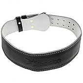 "Precision Traning 4"" Padded Weight Lifting Belt - Black"