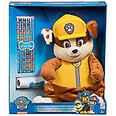 Character Paw Patrol 'Rubble' Plush WIth Crayons Backpack