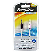 Energizer High Tech - 3.5mm Audio Jack Cable - Purple