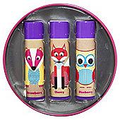Lavant Woodland Lip Balm Gift Tin
