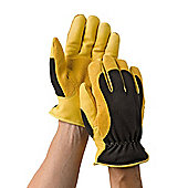 Gold Leaf Winter Touch Gardening Gloves Ladies