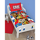 Paw Patrol Pawsome 4 in 1 Junior Bedding Bundle Set (Duvet, Pillow and Covers)