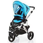 ABC Design Cobra Pushchair - Silver & Rio