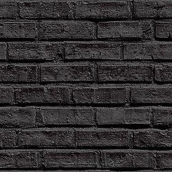Black Brick Wallpaper - Arthouse 623007