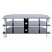 LEVV Glass TV Stand